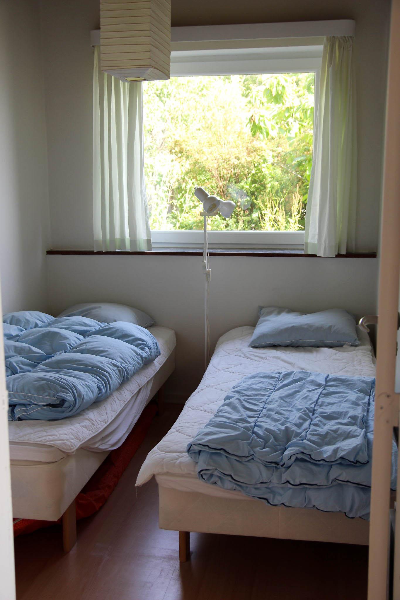 Soveværelse med 2 enkeltsenge