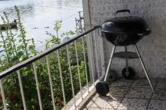 Grill på terrassen