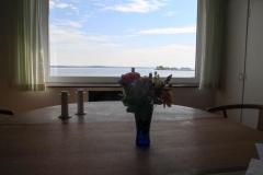 Spisebord med udsigt